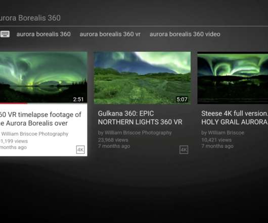 60bb0df624d5 YouTube Bringing 360 Videos To Your TV