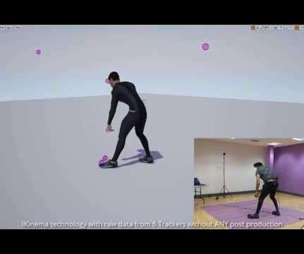 Motion Capture - Virtual Reality Pulse