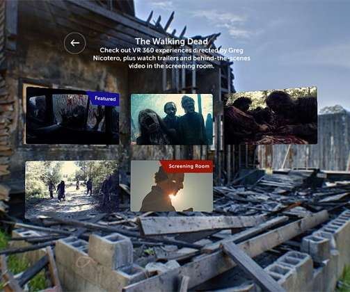af15318b602a AMC Channel Launches 360 Video App Featuring  Walking Dead  360 Shorts
