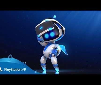 8a5a1925dba Sony Japan Studio Announces VR Platformer  Astro Bot Rescue Mission  For  PSVR